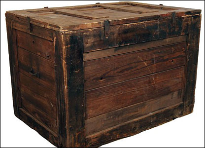 The mystery in the box god is pretend for Where do i find wooden crates